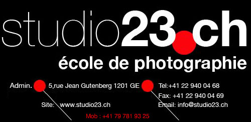 studio23.ch - cole de photographie